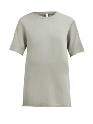 Extreme Cashmere No. 64 Cashmere Blend T Shirt Light Green