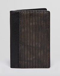 Frye James Slim Cut Bi Fold Wallet Black