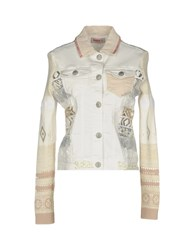 Desigual Denim Outerwear White