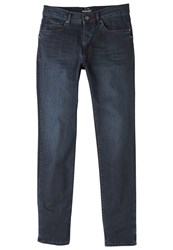 Mango Men's Slim Fit Dark Wash Jan Jeans Blue