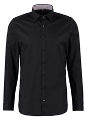 Olymp Level 5 Body Fit Formal Shirt Schwarz Black