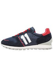 Bikkembergs Number Trainers Blue Red Dark Blue