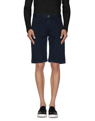 7 For All Mankind Seven7 Trousers Bermuda Shorts Men Dark Blue