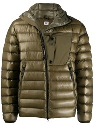 C.P. Company Cp Padded Down Jacket Green