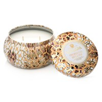 Voluspa Maison Blanc 2 Wick Candle In Tin Prosecco Bellini