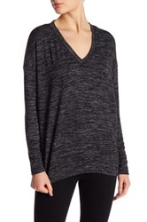 Joe Fresh V Neck Dolman Sleeve Sweater Gray