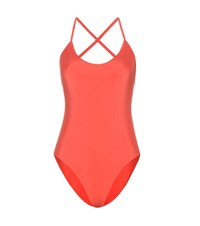 Bower Swimwear Fitgerald One Piece Swimsuit Red