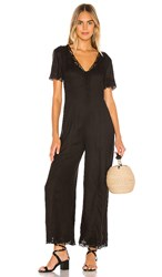 Amuse Society Canyon Palms Jumpsuit In Black. Black Sands