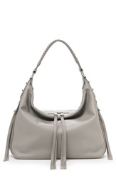 Botkier Samantha Leather Hobo Bag Grey