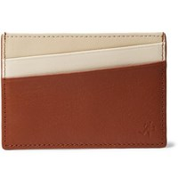 Want Les Essentiels Branson Leather Cardholder Brown
