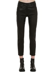 Belstaff Mistley Leather Pants Black