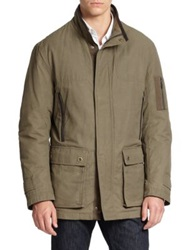 Rainforest Waxed Cotton Jacket Khaki