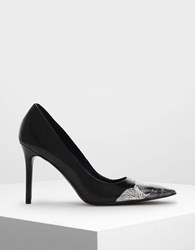 Charles And Keith Classic Pointed Pumps Black