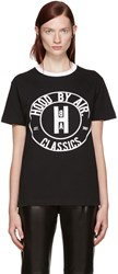 Hood By Air Black Cookie Ringer T Shirt