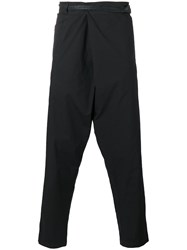 Transit Loose Fit Trousers Black
