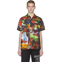 Moschino Multicolor Poplin Shirt