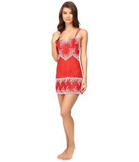 Wacoal Embrace Lace Chemise Tango Red Coral Blush Women's Lingerie