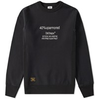 Wtaps Hellweek 02 Crew Sweat Black