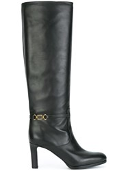 Veronique Branquinho Knee Length Boots Black