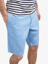 Joules Laundered Oxford Shorts Soft Blue