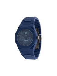 D1 Milano Marble Watch Polycarbonite Blue