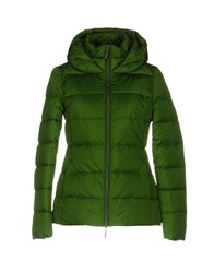 Jan Mayen Down Jackets Green