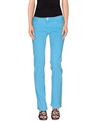 Trussardi Jeans Denim Denim Trousers Women Azure
