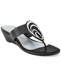 Impo Gibson Wedge Sandals Women's Shoes Black