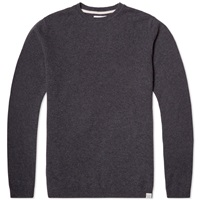 Norse Projects Sigfred Lambswool Knit Grey Melange