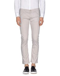 Centoquattro Trousers Casual Trousers Men Light Grey