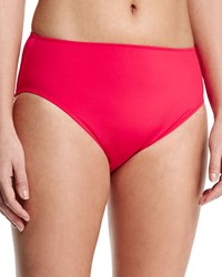 Gottex High Waist Bikini Swim Bottom Women's Pink