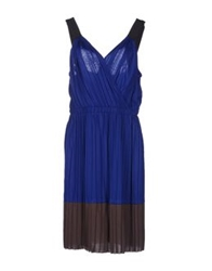 Hoss Intropia Knee Length Dresses Bright Blue