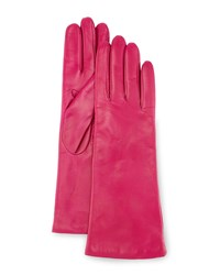Portolano Four Button Leather Gloves Clover