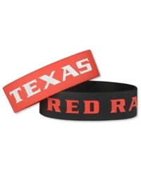 Aminco Texas Tech Red Raiders Wide Bracelet 2Pk