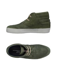 Alexander Smith Sneakers Military Green