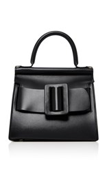 Boyy Karl Leather Shoulder Bag Black