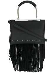 Alexander Wang Small Dime Satchel Black