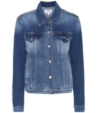 Frame Le Vintage Denim Jacket Blue