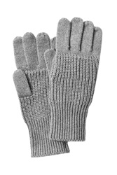 Marc By Marc Jacobs Cotton Wool Gloves Grey