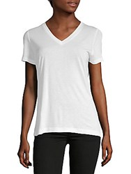 Getting Back To Square One The Perfect V Neck Tee White