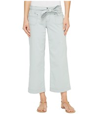 Jag Jeans Wallace Crop In Bay Twill Soft Sage Women's Casual Pants Green