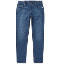 Brunello Cucinelli Slim Fit Denim Jeans Blue