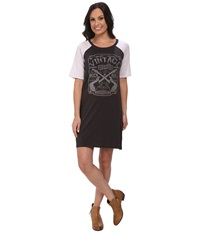 Rock And Roll Cowgirl 3 4 Sleeve Dress 18 4308 Black Women's Dress