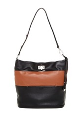 Perlina Stella Bucket Bag Black