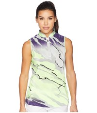 Jamie Sadock Le Tigre Crunchy Textured Sleeveless Top Shockwave Multi