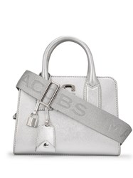Marc Jacobs Small Big Shot Tote Silver