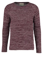 Revolution Jumper Bordeaux Mottled Bordeaux