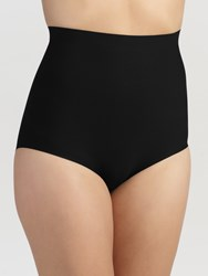 John Lewis Light Control High Waist Briefs Black