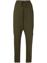 3.1 Phillip Lim Tailored Track Pants Green