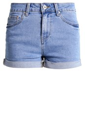 Evenandodd Denim Shorts Light Blue Denim